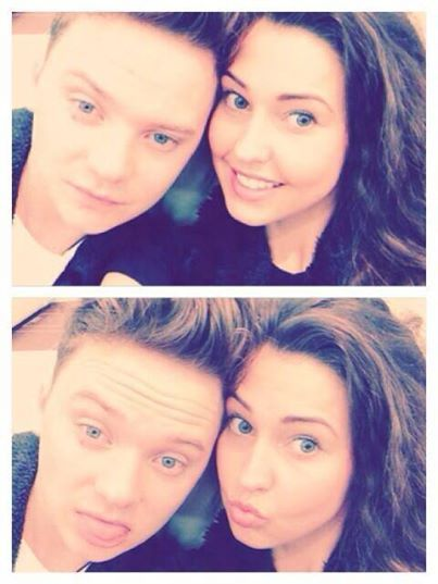 Conor and his girlfriend :D