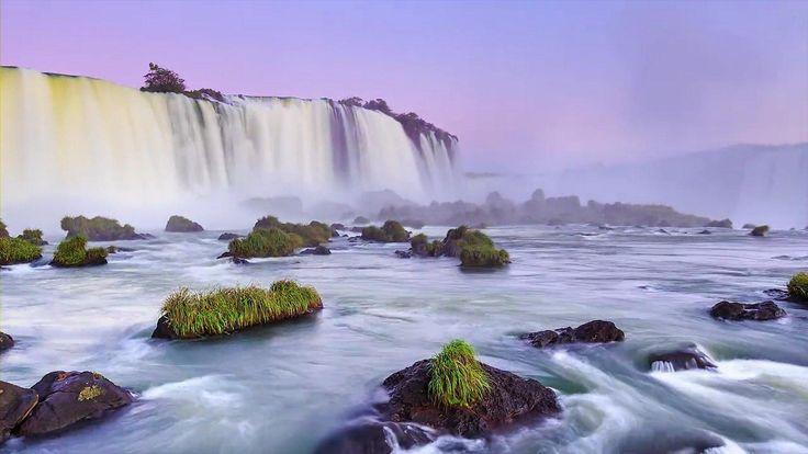Waterfalls around the world! Plenty of negative ions around waterfall. http://www.airiontester.com #waterfall #negativeions #airiontester