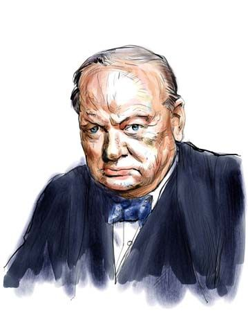 churchill sir winston leonard spencer essay Sir winston leonard spencer-churchill, kg, om, ch, td, pc, dl, frs 30 november 1874 - 24 january 1965 was one of those people it is difficult to avoid.