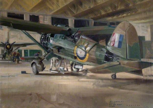 Major Inspection Lysander, 400 Squadron, Royal Canadian Air Force