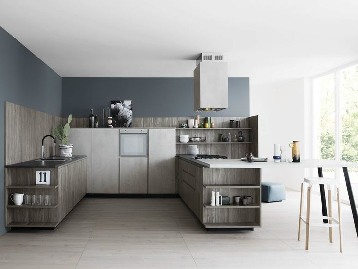 Moderne küchen mit halbinsel  Die besten 25+ Halbinsel Küche Design Ideen auf Pinterest | Küchen ...