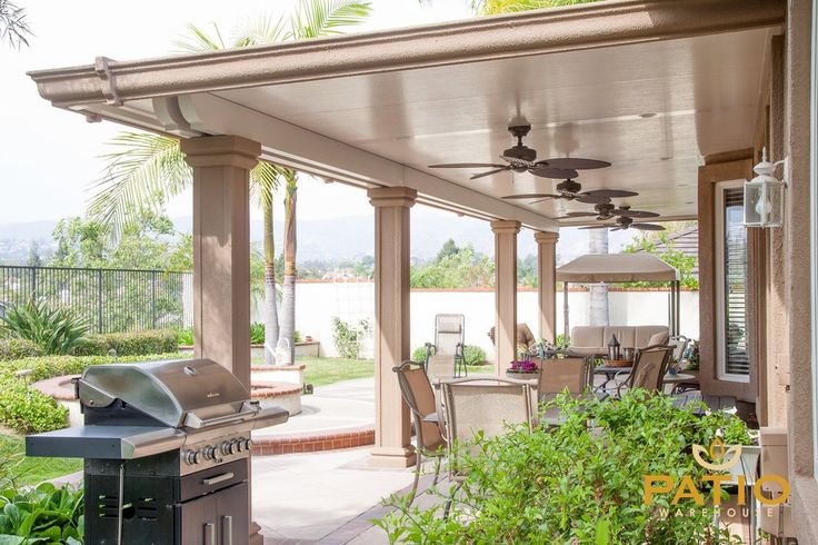 Patio Warehouse - Orange, CA, United States. Elitewood patio cover, patio covers, patio coverings, awnings, cover for patio, Alumawood patio cover, patio covers, backyard patio designs