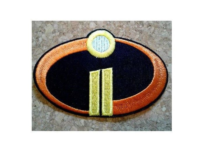 Sew-On Patch// badge//Logo The Incredibles Movie i Embroidered Iron