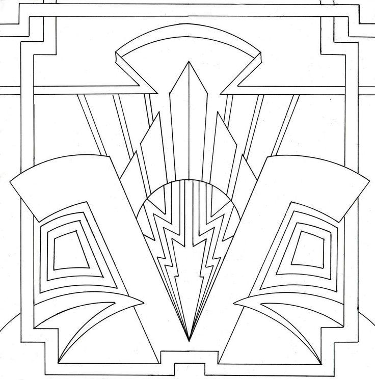 Ornamental Art Deco Design by venomkold822