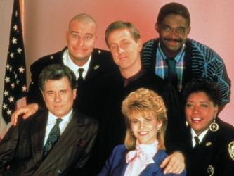 Night Court (1984) - the jazzy intro music, the clownish judge named Harry played by Harry Anderson, the simple yet witty cast, and most of all the chauvinistic Dan Fielding (John Larroquette) - I loved this show.