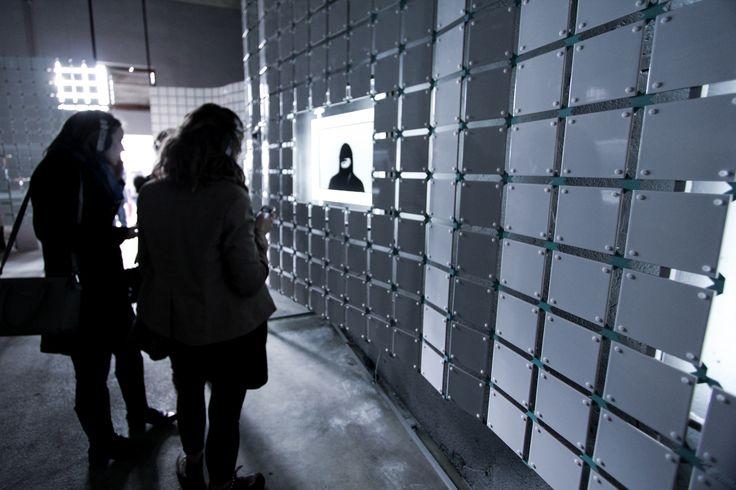 Visitors' path.Réserve Deboussolée,Biennale Design Saint Étienne.image ©futurecrafter