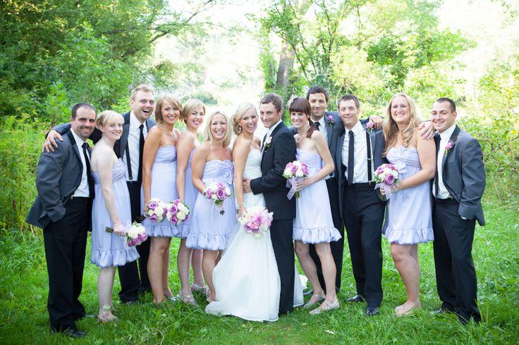Old Mill Inn wedding party