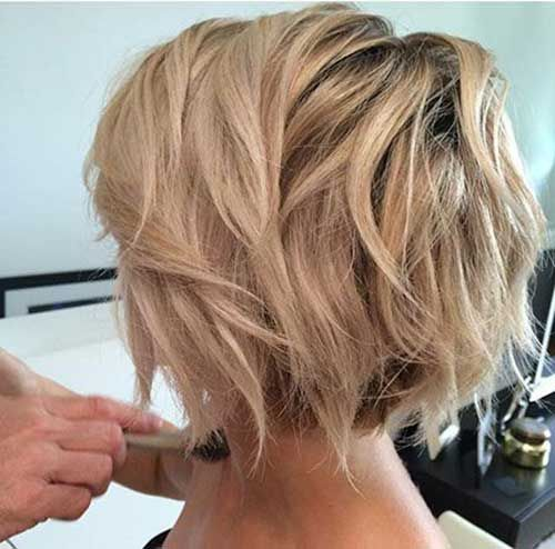 In 2016, the fashion is a completely new type of bob hairstyle straight bob with asymmetrical faces. Description from nail-art-styling.com. I searched for this on bing.com/images
