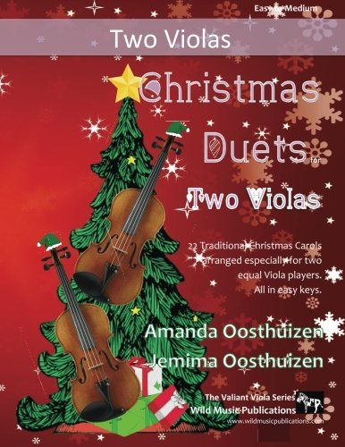 Christmas Duets for Violas: 22 Traditional Christmas Carols arranged especially for two equal players. All in easy keys.  US $9.97 & FREE Shipping  #bigboxpower
