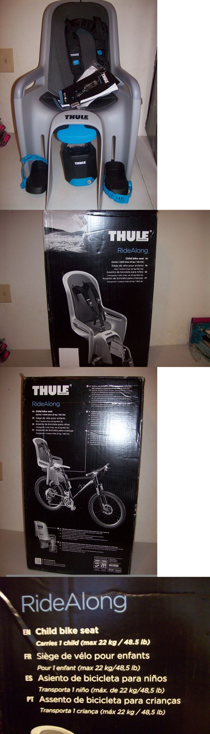 Child Seats 56808: Thule 100101 Ridealong Child Bike Seat Light Gray New In The Box For 1/2 Price BUY IT NOW ONLY: $169.99
