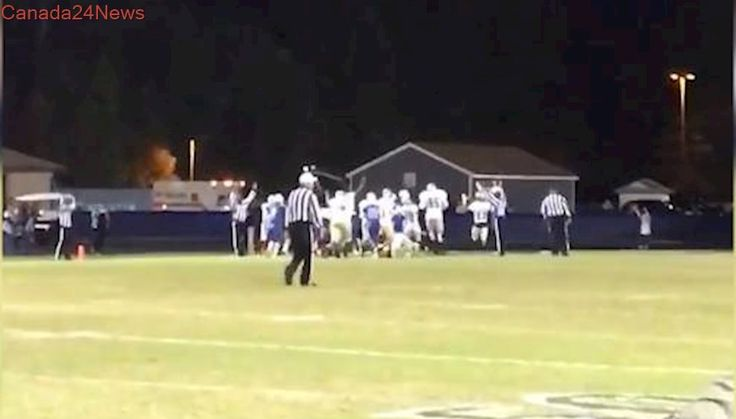 Virginia teen with cerebral palsy scores touchdown in high school football game