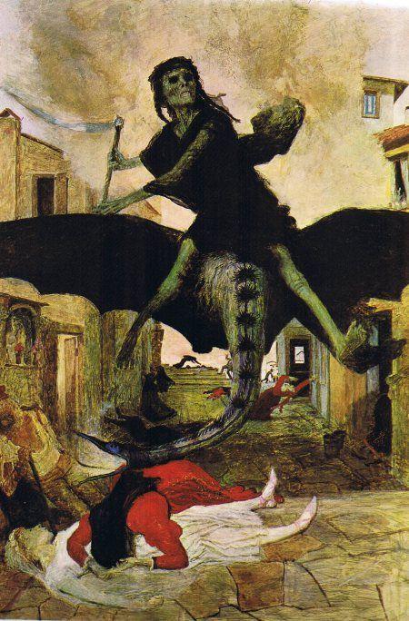 Arnold Böcklin, 1898, Die Pest