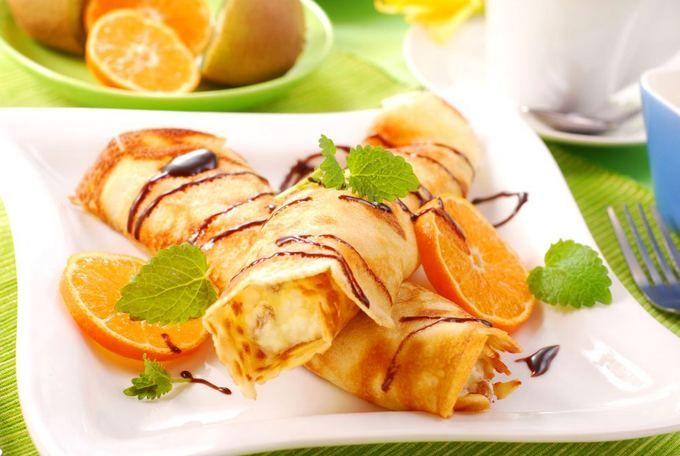 Апельсиновые блины из рикотты – кулинарный рецепт с фото, как приготовить на Вкусно Дома