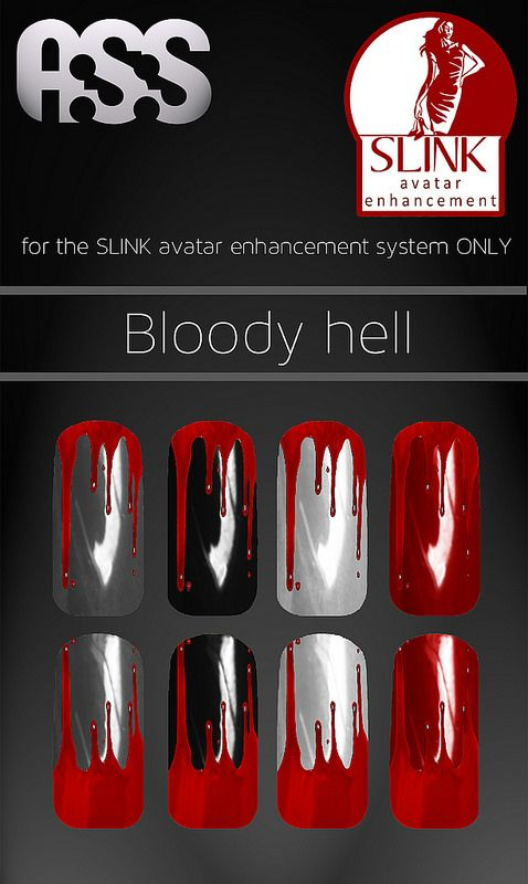 A:S:S - Slink nail appliers - Bloody hell | Flickr - Photo Sharing!