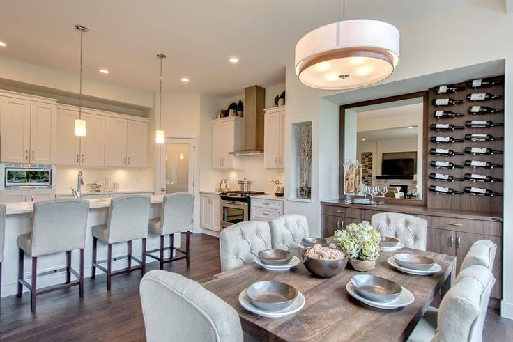 Dining Room/Kitchen - South Creek - Lot 3 - First Impression Designs