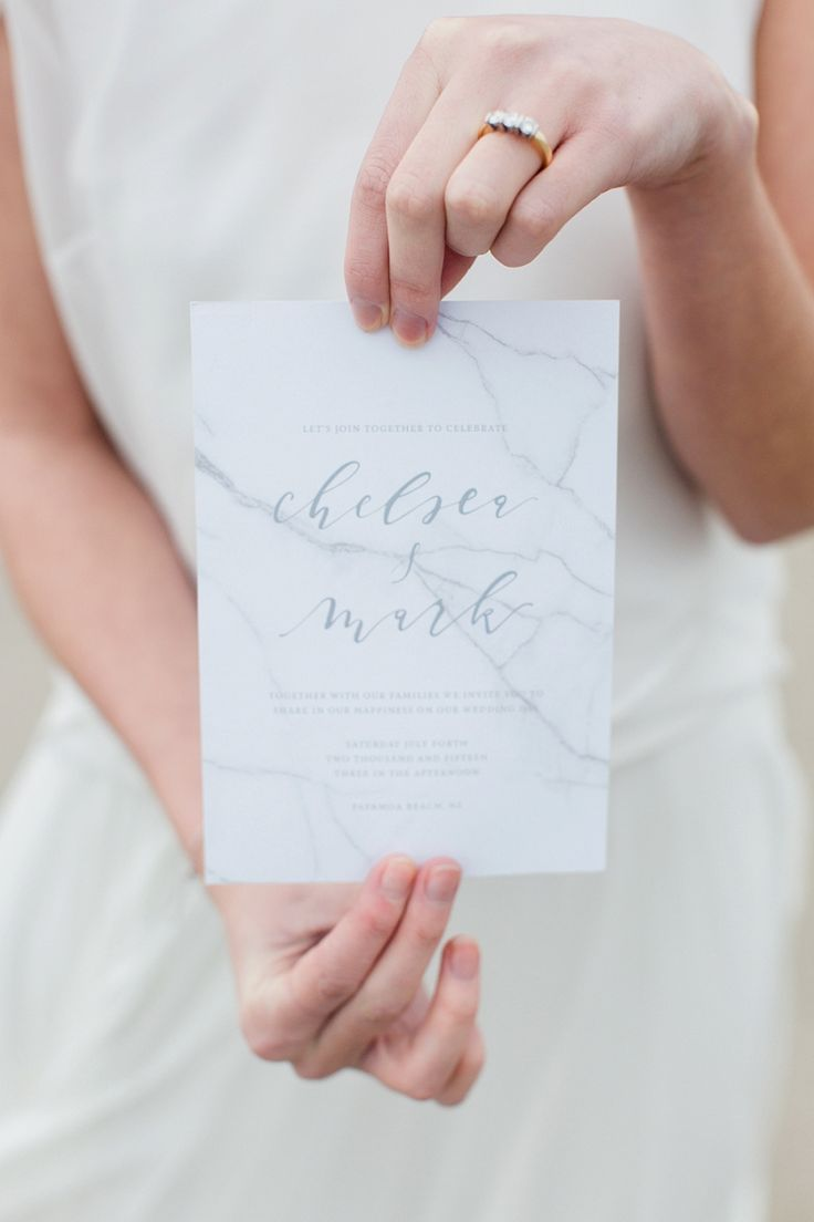 Marble Wedding Stationery