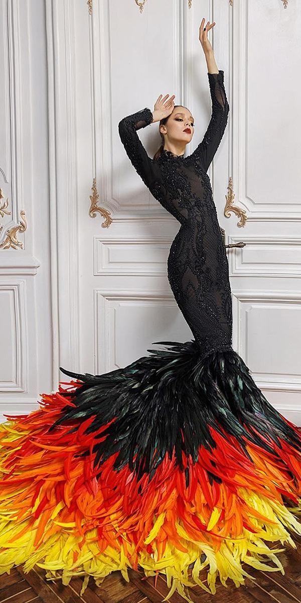 33 Beautiful Black Wedding Dresses That Will Strike Your Fancy Black Wedding Dresses Mermaid Black Wedding Dresses Fancy Wedding Dresses Wedding Dress Styles,Bridesmaid Dresses Beach Wedding