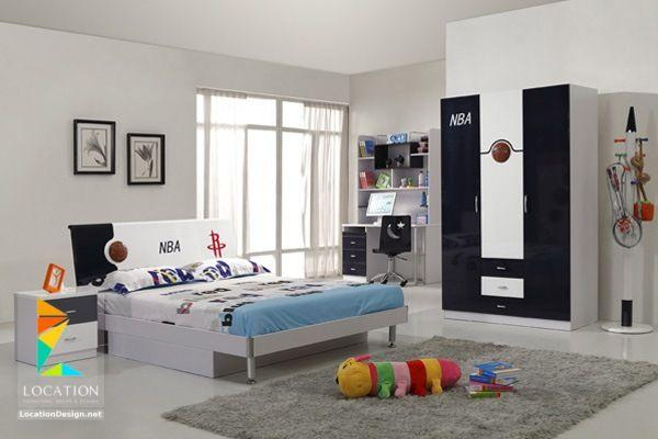 غرف نوم اولاد شباب أحدث موديلات غرف شبابي مودرن لوكشين ديزين نت Modern Kids Bedroom Kids Bedroom Designs Kids Bedroom Design