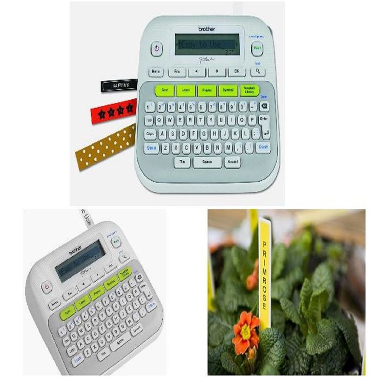 Brother P Touch Label Maker Pt New D210 Printer Labeler System Electronic #Brother