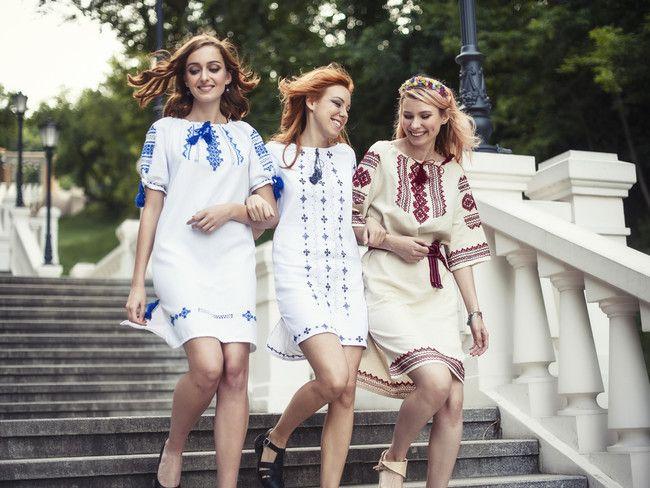 Праздник Ивана Купала: самые модные платья-вышиванки - Мода