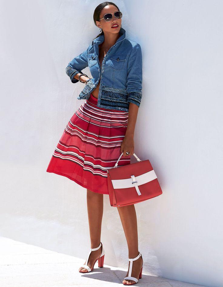 Craquez pour cette jupe au charme rétro irrésistible !