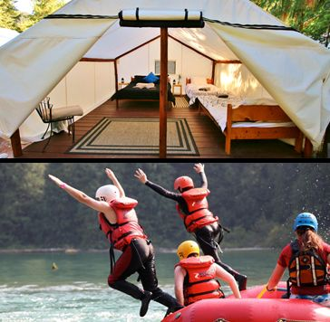 Up to 35% off 1, 2 OR 3-Night Glamping Package for 2