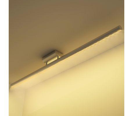 LED stropní svítidlo z nerezové oceli teplé bílé světlo 12W