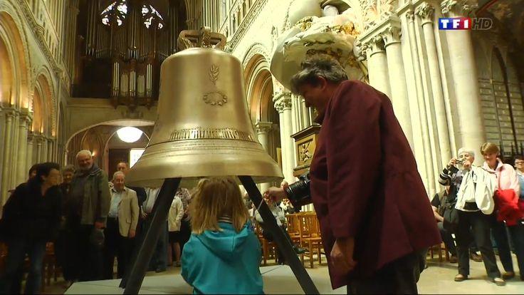 Thérèse Bénédicte, une cloche créée pour le 70ème anniversaire du débarquement