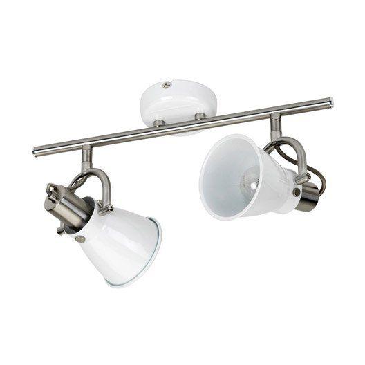 Rampe de spot pour cuisine spot simple pour salle de bain for Rampe spot salle de bain