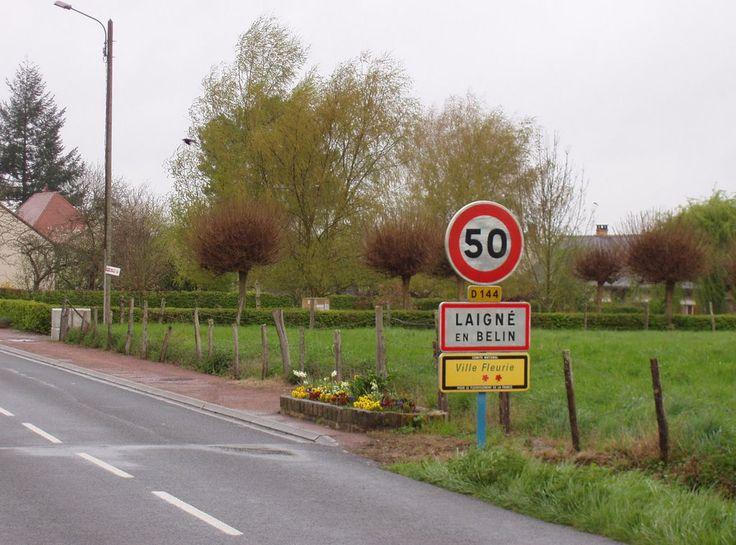 Laigné-en-Belin, Sarthe. Pop: 2332