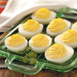 Deviled eggs extraordinaire appetizers pinterest for Table 52 deviled eggs recipe
