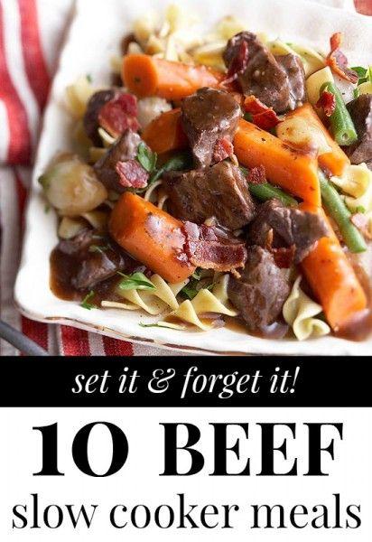 Beef Slow Cooker Meals