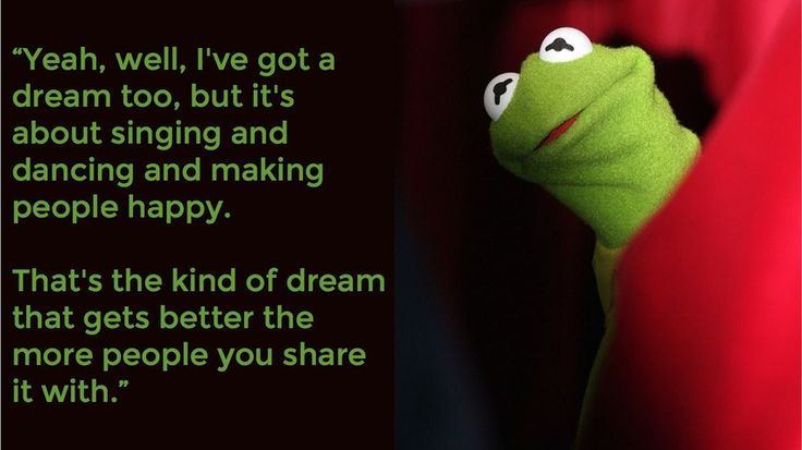 Not sure why this post is on Mashable, but it's a great collection of Kermit the Frog quotes. Love it!!