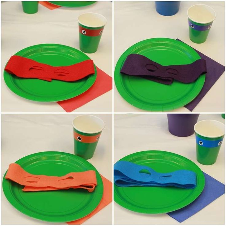 Teenage Mutant Ninja Turtles Birthday Party Ideas | Photo 2 of 12 | Catch My Party