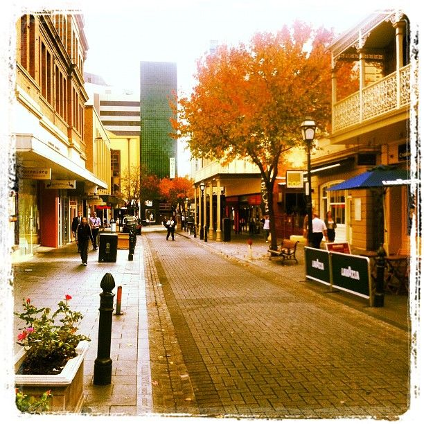 Leigh Street, Adelaide. South Australia.