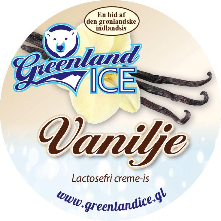 Super vanilje is, med meget smag af vanilje.