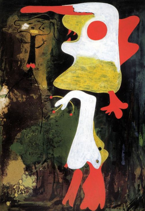 Joan Miro - Two Personages