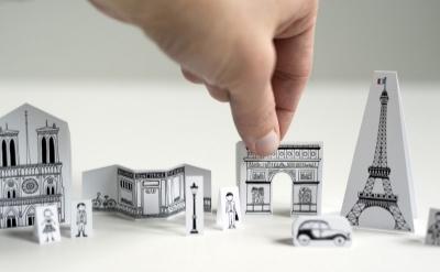 Mini-Paris printable - and a great explanation about Paris' nickname!