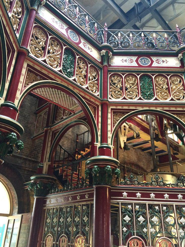 Stunning Victorian Ironwork, Crossness Pumping Station