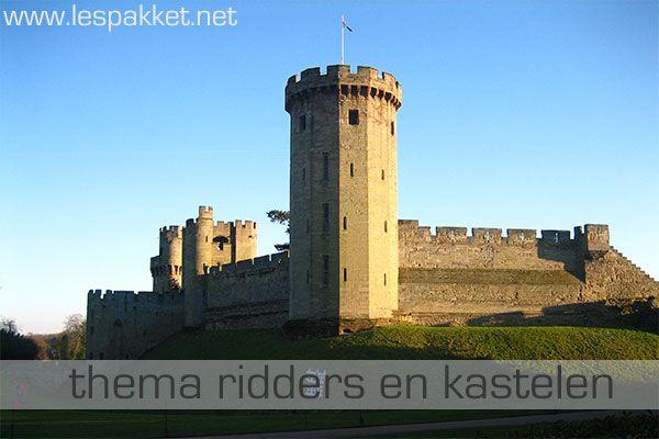 Thema ridders en kastelen - Lespakket - thema's, lesideeën en informatie - onderwijs aan kleuters