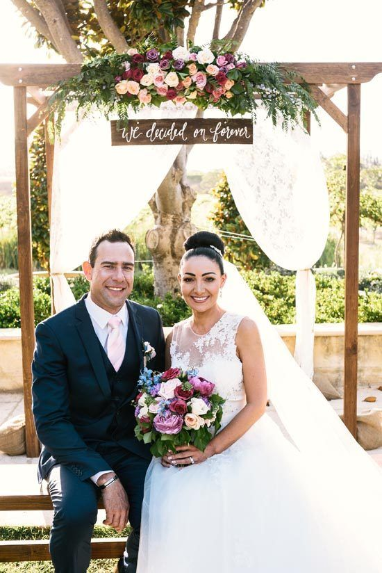 Kylie and Matthew's Rustic Vintage Winery Wedding