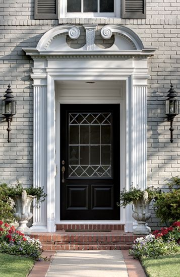 17 Best Images About Exterior Door Pilasters And Pediments