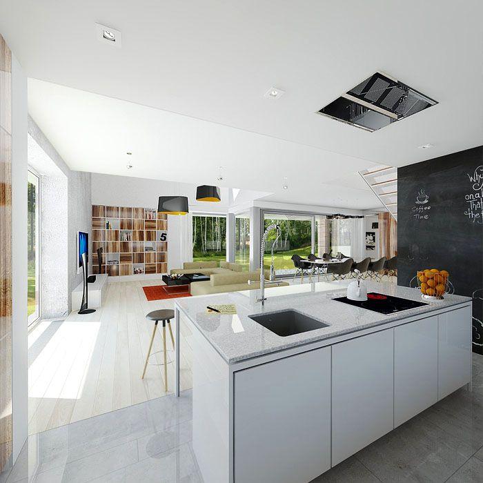 projekt domu 'modny'