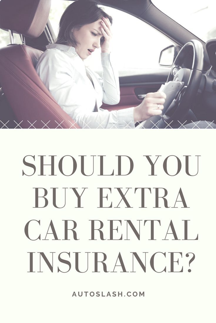 Do You Need To Buy Collision Insurance When You Rent A Car Here S