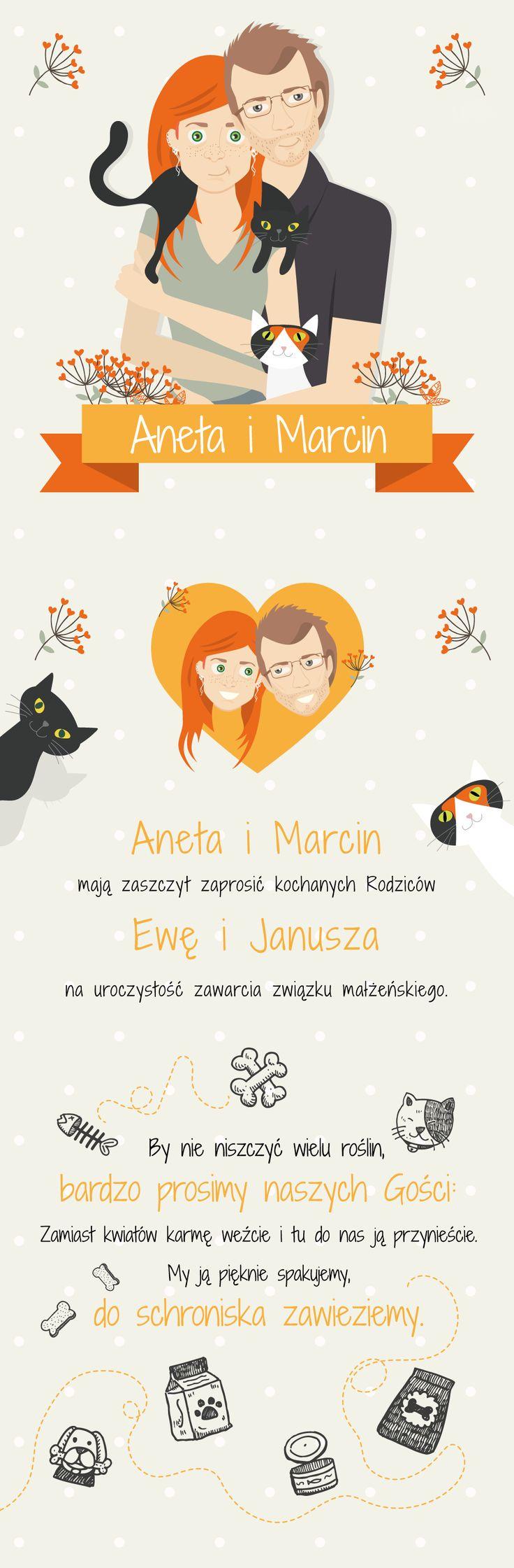 Zaproszenie na ślub /card