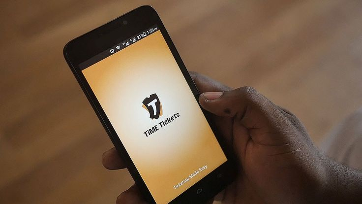 Getting started with TiME Tickets app