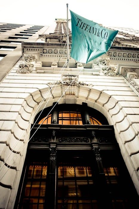 I'd like to see Tiffany's some day. Or maybe it's those beautiful Tiffany blue boxes.