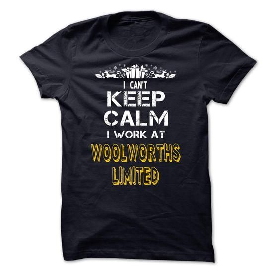 I cant KEEP CALM, I work at Woolworths Limited - #gift packaging #bridal gift. SATISFACTION GUARANTEED => https://www.sunfrog.com/LifeStyle/I-cant-KEEP-CALM-I-work-at-Woolworths-Limited.html?68278