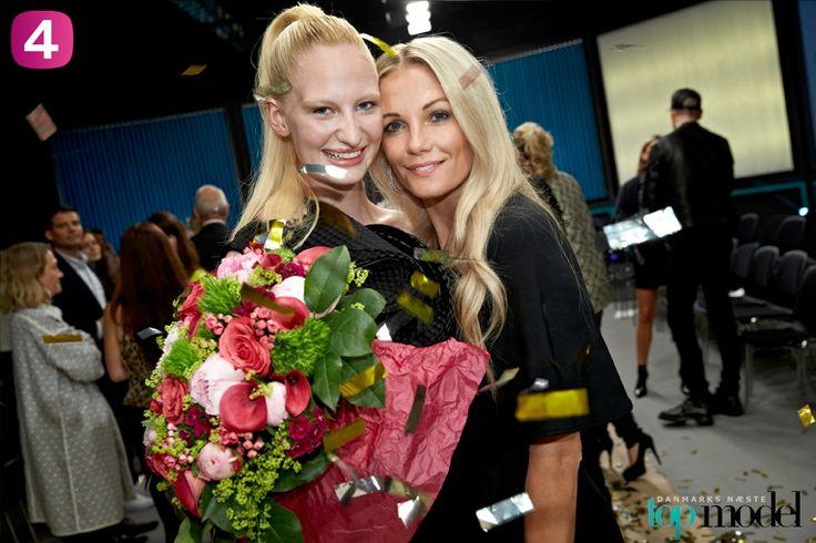 Finalen Topmodel 2014. Karoline Flemming og Sarah.
