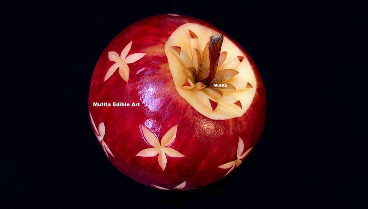 Apple New Simple Flower Pattern